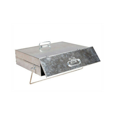 Quality Manor Galvanised Ash Carrier Box #0569