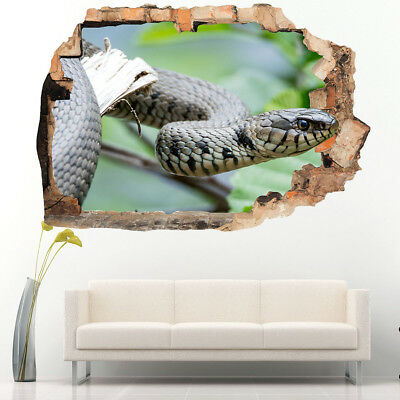 Wall Stickers Snake Tongue Reptile Cool Bedroom Girls Boys Laptop Room D114