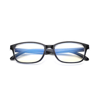 Unisex Clear Lense Anti Blue Light Computer Glasses Gaming TV Anti Radial Reflex