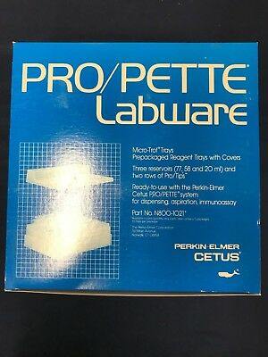 PRO/PETTE LABWARE Micro-Trof Reagent Trays with Covers N800-1021