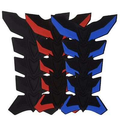 Universal 3D Rubber Motorcycle Modified Fuel Tank Pad Protector Sticker Decal