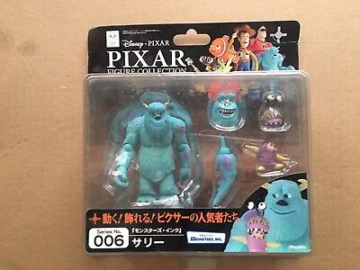 Sulley & Boo Revoltech Pixar Series 006 Monsters Inc Figure University Kaiyodo