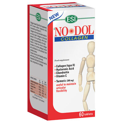 No Dol Collagene - Esi - 60 Tablets - Colagen - Hyaluronic Acid- Condroitin