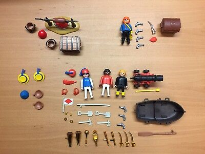 Playmobil 3480+3794+3546+3382 Piraten Kapitän Seeleute