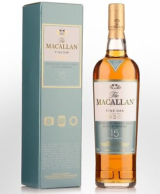 The Macallan Fine Oak 15 Year Old Single Malt Scotch Whisky 700ml