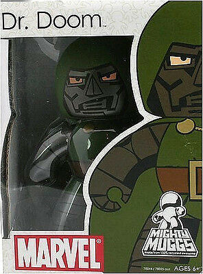 """MARVEL MIGHTY MUGGS Collection_DR. DOOM 6 """" Vinyl figure_Series # 2_New_Unopened"""