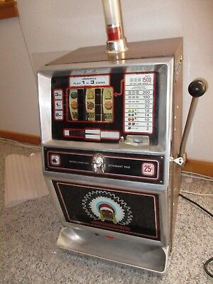 JENNINGS J400 QUARTER SLOT MACHINE semi working project