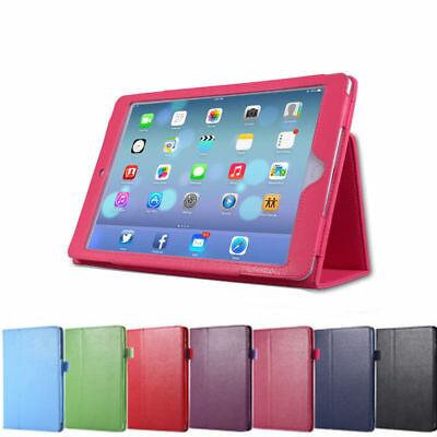 Leather Tablet Stand Flip Cover Case For Apple iPad 9.7, 2017/18/Air 2 ipad mini
