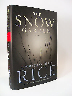 The Snow Garden : A Novel by Christopher Rice (2002, Hardcover) 1st Printing
