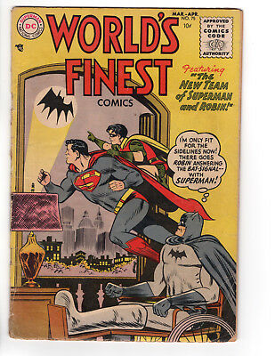 """World's Finest #75 - """"the New Team Of Superman And Robin"""" - 4.0"""