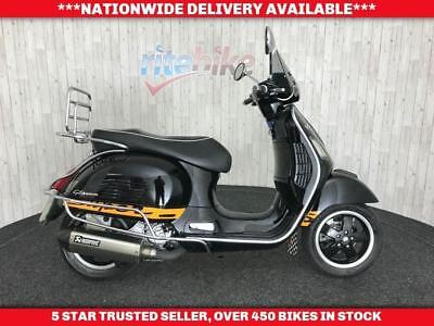 Piaggio Vespa Gts Gts 300 Ie Super Scooter One Owner Long Mot 05/2019 2014