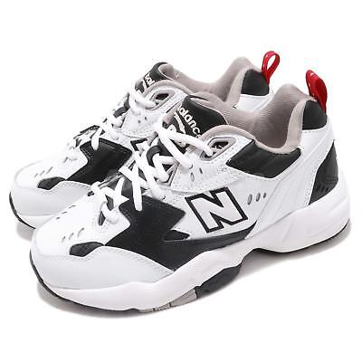 WOMENS NEW BALANCE 608 Trainers White Black Trainers Shoes