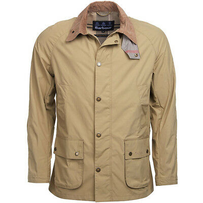 New BARBOUR Tailored Lightweight Tech Waterproof Breathable Squire Jacket sz XL