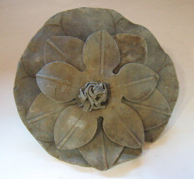 VTG WATER FOUNTAIN LILLY SPOUT 2 Levels of 5 METAL PETALS to create water stream