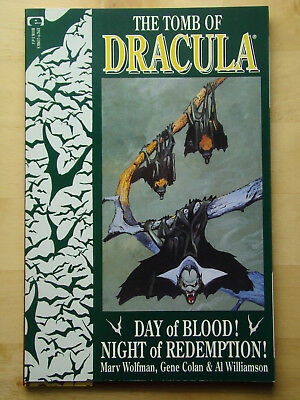 The Tomb Of Dracula (1991) #3 Of 4 (Nm) Wolfman & Colan, Epic Comics