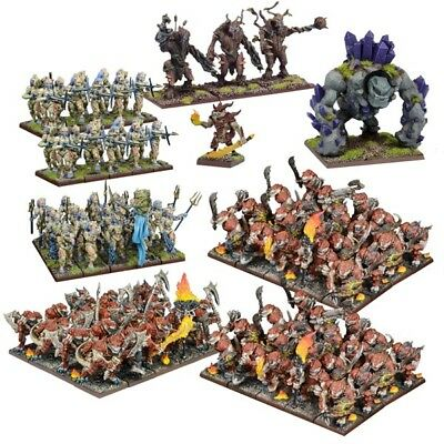 Kings of War Forces of Nature Mega Army