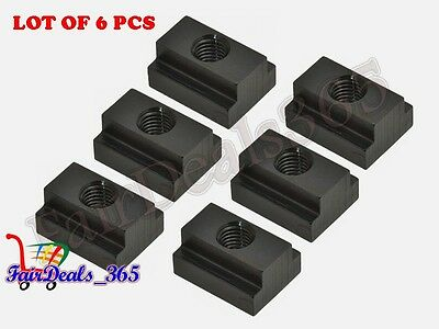 6Pcs Pack T-Slot Nut M20 Thread & Slot Size 22Mm Clamping For Table Slot Milling