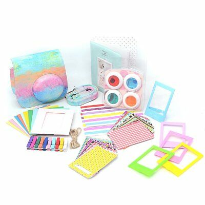 For Fujifilm Instax Mini 8 9 Instant Camera Accessories 9 in 1 Bundles Kits UK