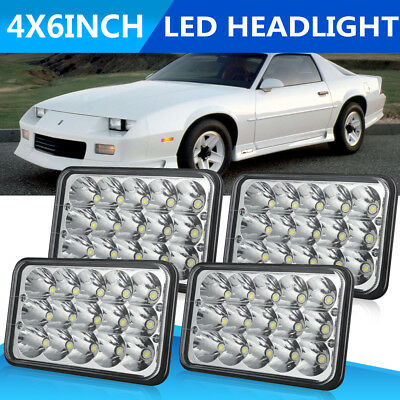 4x6'' Cree LED Headlight Seal For Kenworth T400 T600 W900L Classic 120/132 4US