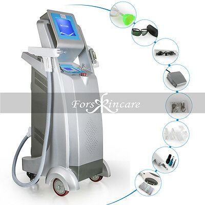 Pro 2IN1 E-Light IPL Fast Hair Removal Yag Laser Tattoo Removal Machine Salon