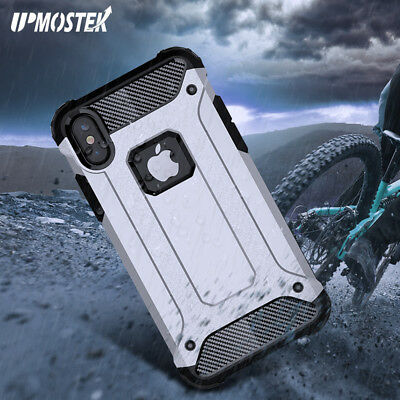 Hybrid Armor Shockproof Rugged Rubber Heavy Duty Case For iPhone XS Max XR X 7 8