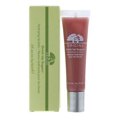 Origins Drink Up Sugars Hydrating Lip Balm 15ml - Taffy Twinkle 03 - NEW.