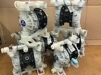 "1/2"" Graco Husky 515 Air Diaphragm Pump AODD (Poly/Sant) - D5B966 SAVE 70%"