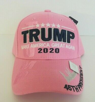 MAGA President Donald Trump 2020 Make America Great Again Hat Pink Cap