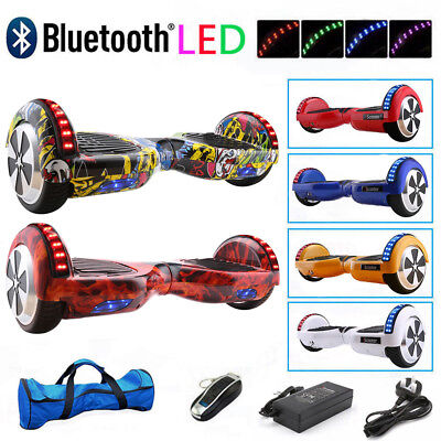 Electric Scooter Self Balancing Scooter Bluetooth Balance Board +Wheels LED +Bag