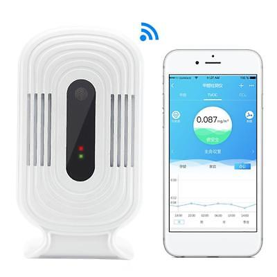 USB Wifi Air Quality Tester Smart Monitor Detector PM2.5 HCHO&TVOC&CO2 Analyzer