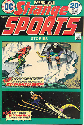 Strange Sports #5 (DC Comics, June 1974) 8.0 VF