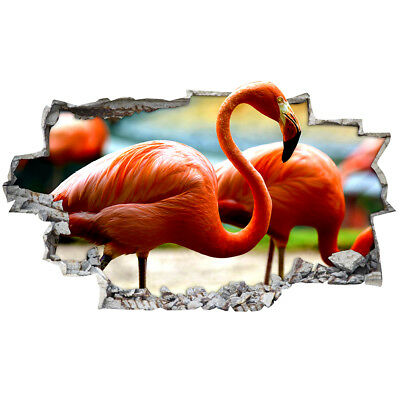 R549w Flamingo Bird Animal Bedroom Wall Stickers Bedroom Girls Boys Living Room