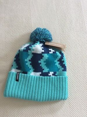 6278ac57ad0 PATAGONIA WINTER HAT Powder Town Beanie One Size NEW Kids Adult ...