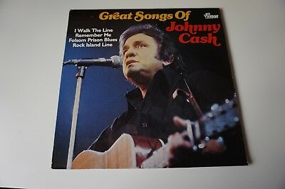 Johnny Cash * Great songs of ...  LP