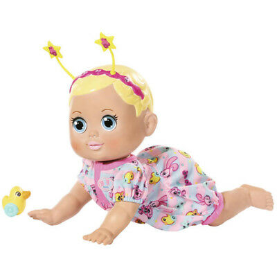 Baby Born Funny Faces Crawling Baby Doll - 825884 - NEW