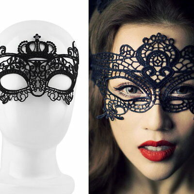 Sexy Lady Lace Mask Eye Mask For Masquerade Ball Party Halloween Costu ES