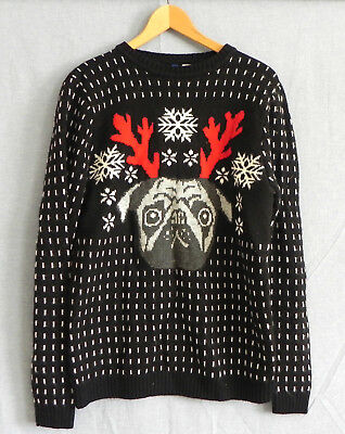 25929062f2a1 Divided by H&M Christmas Sweater Wool Blend Long Sleeve Pull Over Size M