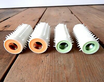 Vintage Carmen Conditioning Curl Heated Hair Rollers Spare Rollers x4 #F