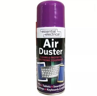 Compressed Air Duster Cleaner Can Canned for Laptop Keyboard Mouse 200ml UK SLR