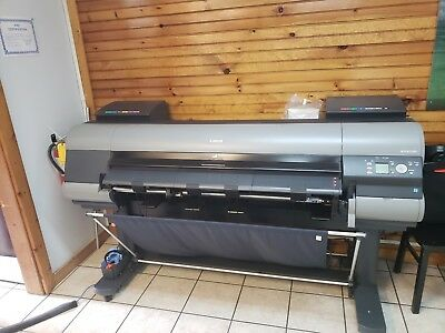 "Canon IPF8300 44"" Large Format Inkjet Printer with Stand"