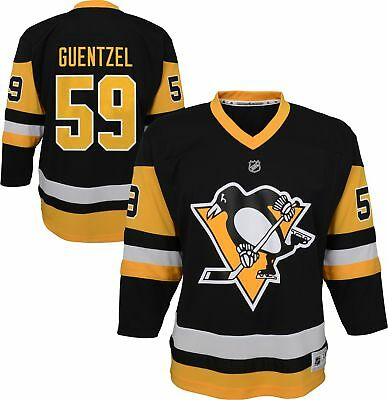 PITTSBURGH PENGUINS JAKE Guentzel Adidas Authentic Pro Jersey Black ... b44f911dd