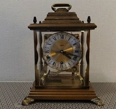 Schatz triple chime clock. Westminster Whittington and St Michael. German Made.