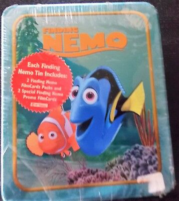 Disney Pixar Finding  Findet Nemo Trading Card Tin Box Blechdose - Ovp
