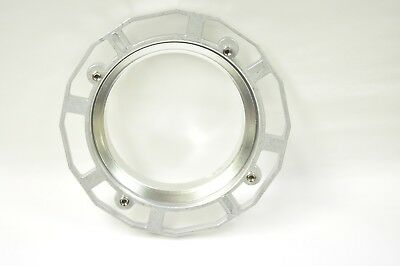 Westcott 3508 adapter ring for the Elinchrom head . New