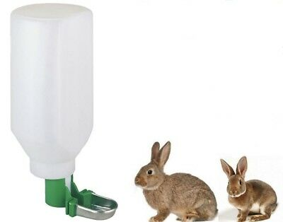 Kerbl Extra Large Water Feeding Bottle Water Dispenser 2 Ltr Rabbits Guinea Pigs