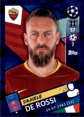 Topps Champions League 18/19 - Sticker 271 - Daniele De Rossi
