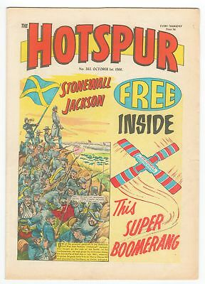 The Hotspur - No 363 - OCTOBER 1ST 1966 - LOVELY COPY!!
