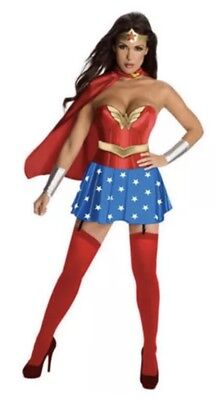 Womens Plus Costume 1X New Wonder Woman Superhero Xl 14 16 Nwt Masquerade Deal