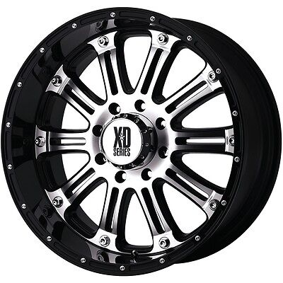 20 Inch Black Wheels Rims Ford F F250 F250 Truck Super Duty