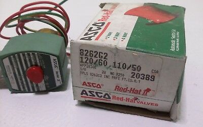 ASCO Red Hat Valves Authentic  8262G2 Shut Off Valve